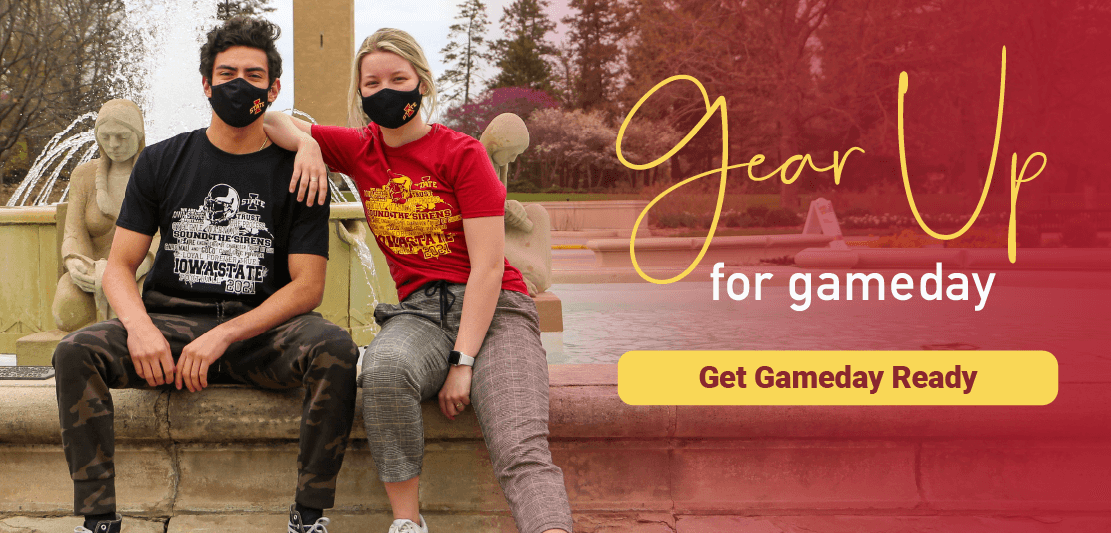 Gear Up for Gameday with the 2021 Iowa State Gameday Shirt