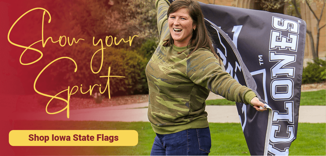 Show Your Spirit with Iowa State Flags and Gear