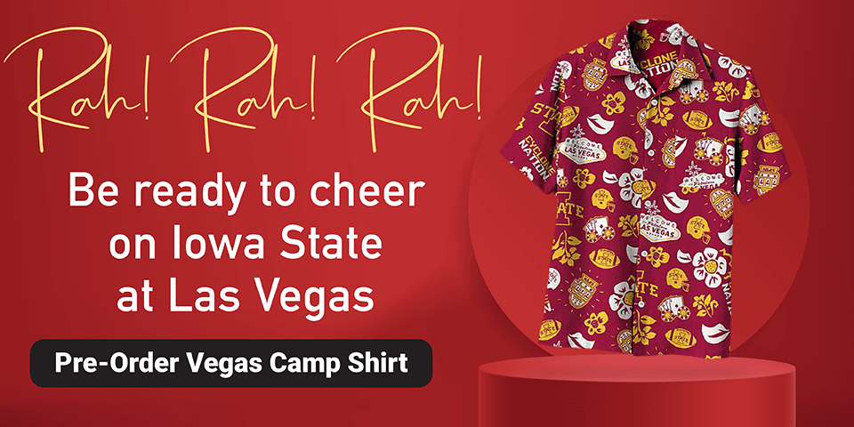 Pre-Order Your Iowa State at Las Vegas Football Camp Shirt