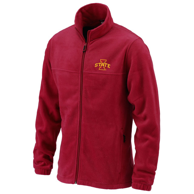 Image For Columbia I-State Full Zip Fleece (Cardinal)