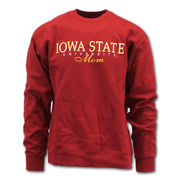 Image For Gear For Sports Iowa State University Mom Crew Neck