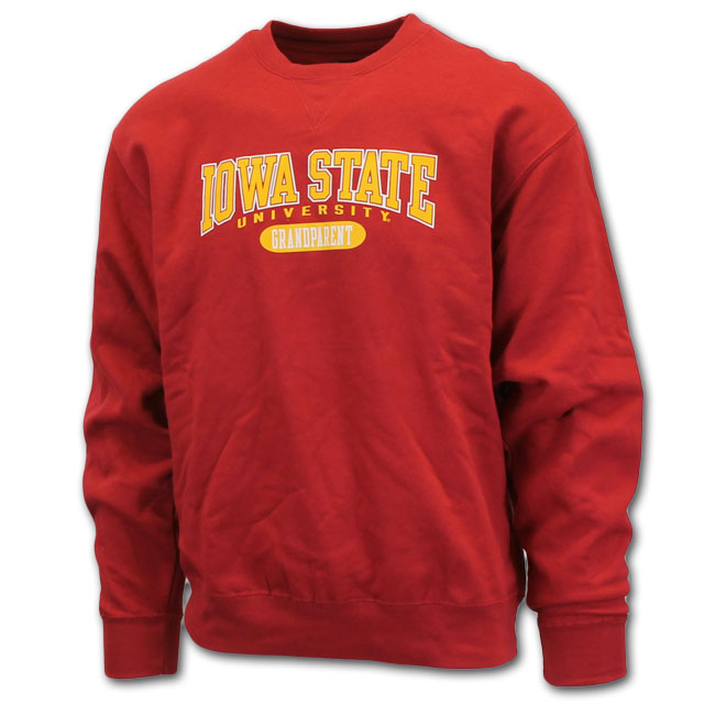 Image For ISU Grandparent Crew Neck Sweatshirt