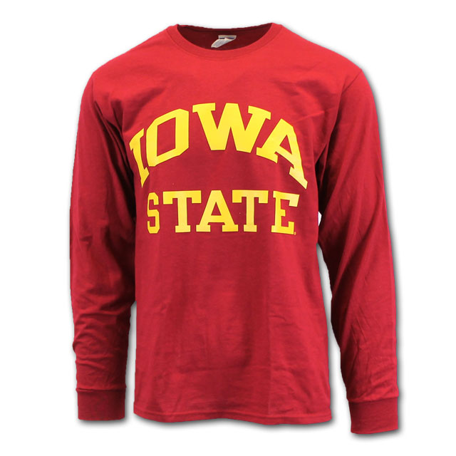 Image For Cy's Deals Iowa State Long Sleeve T-Shirt (Cardinal)