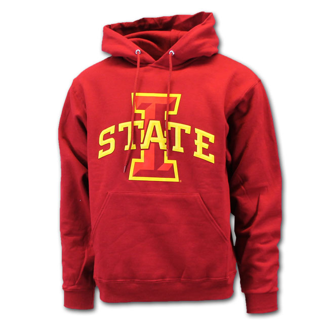 Image For Cy's Deals I-State Hooded Sweatshirt (Cardinal)