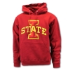 Cy's Deals I-State Hooded Sweatshirt (Cardinal) Image