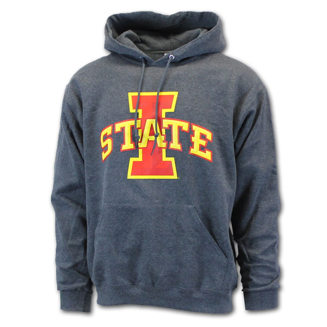 Image For Cy's Deals I-State Hooded Sweatshirt (Charcoal)