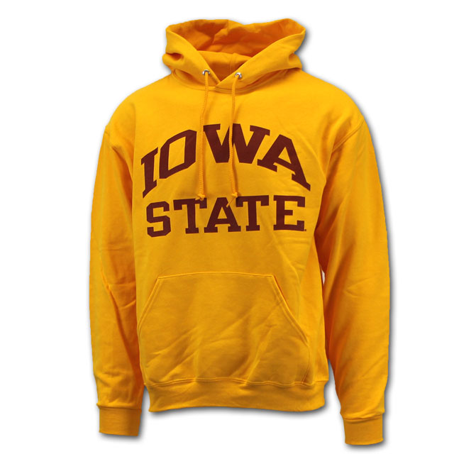 Image For Cy's Deals Iowa State Hooded Sweatshirt (Gold)