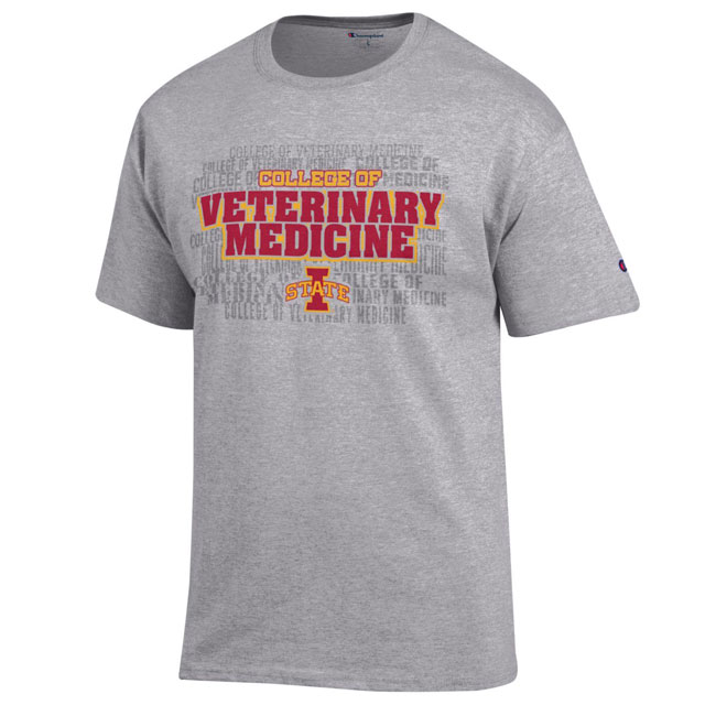 Image For Champion® College of Veterinary Medicine T-Shirt