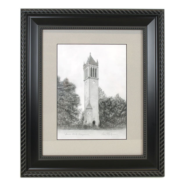 Cover Image For Campanille Framed Print