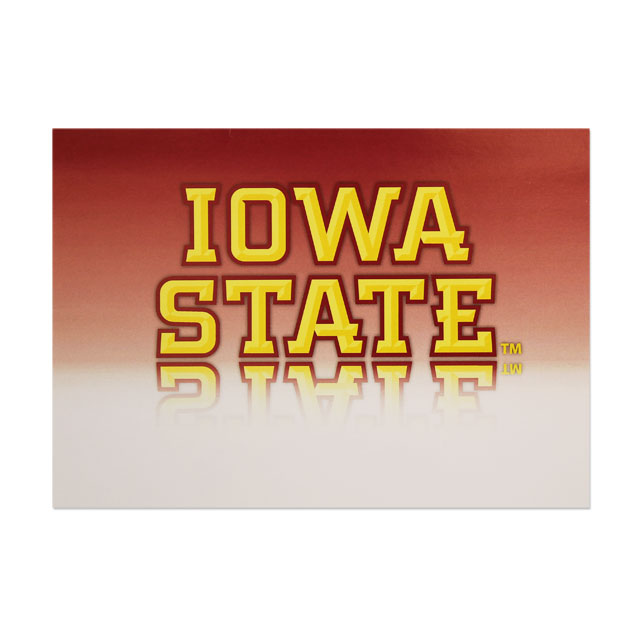 Image For Iowa State Greeting Card