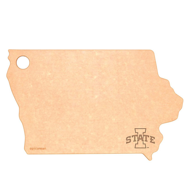 Image For I-State State of Iowa Cutting Board