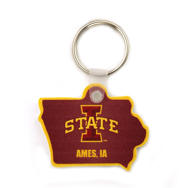 Cover Image For I-State Vinyl Keytag