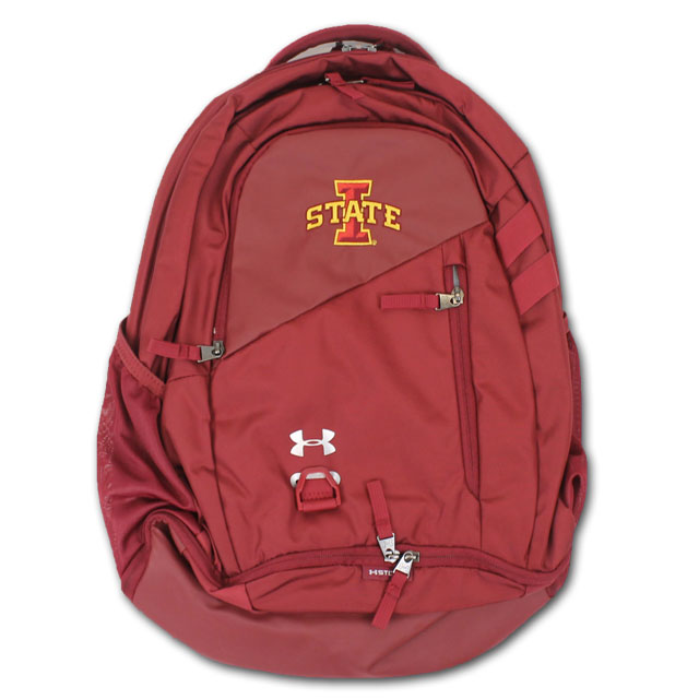 Cover Image For Under Armour® Hustle 4.0 Backpack (Cardinal)