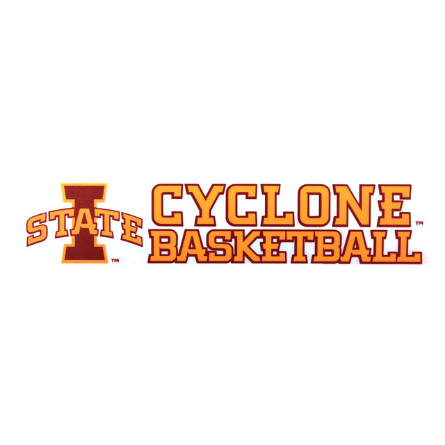 Image For Cyclone Basketball Decal* <i>WAS $4.99</i>
