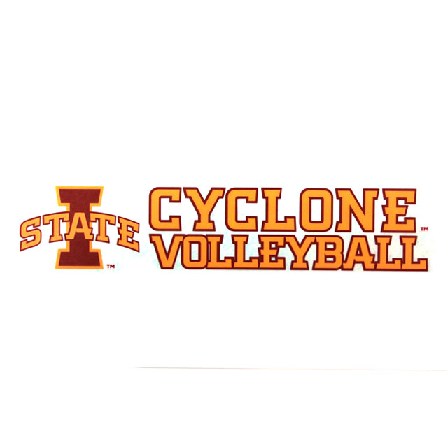 Image For Cyclone Volleyball Decal* <i>WAS $4.99</i>