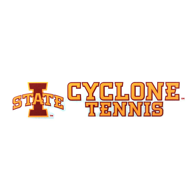 Image For Cyclone Tennis Decal* <i>WAS $4.99</i>