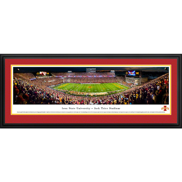 Image For Jack Trice Stadium Panorama Print (Deluxe Frame)