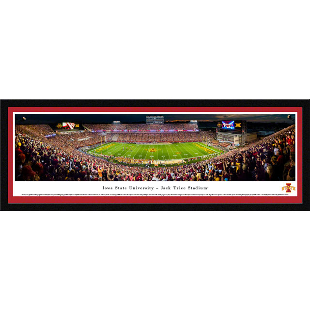 Image For Jack Trice Stadium Panorama Print (Select Frame)