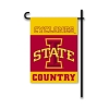 Cyclone Country Garden Flag Image