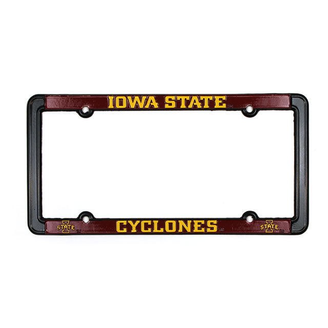 Cover Image For Iowa State Cyclones License Plate Frame
