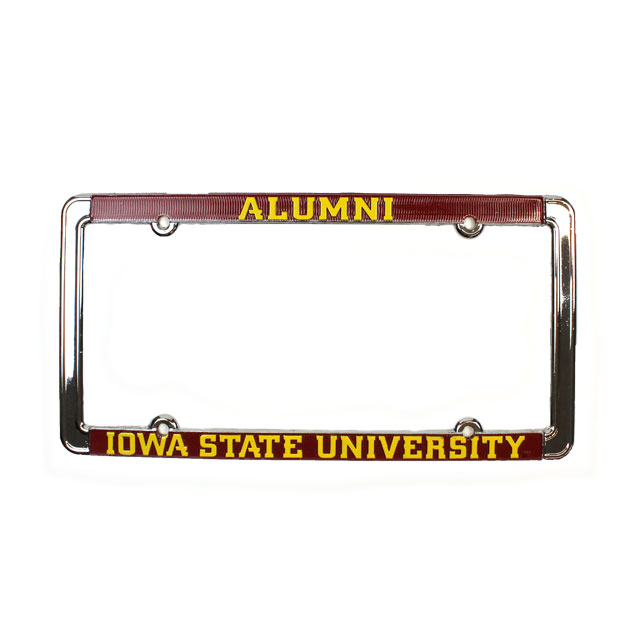 Cover Image For Iowa State Alumni License Plate Frame