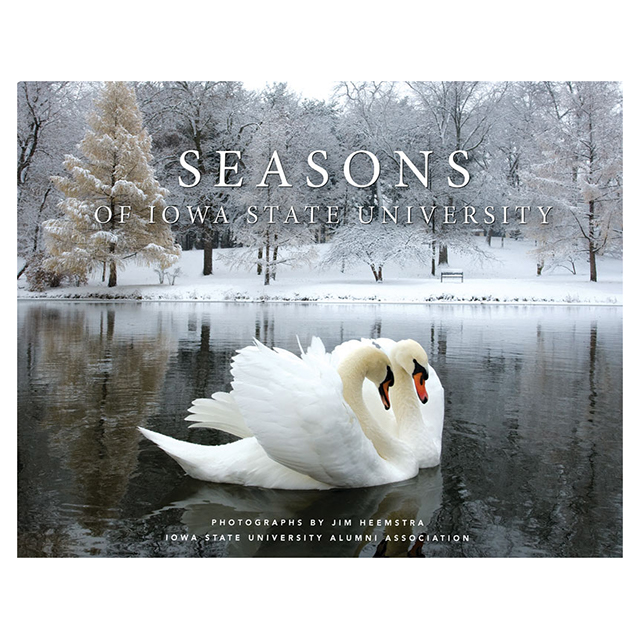Cover Image For Seasons of Iowa State University* WAS $39.00