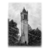 Cover Image for Matted Print Iowa State Campanile *WAS $69.99