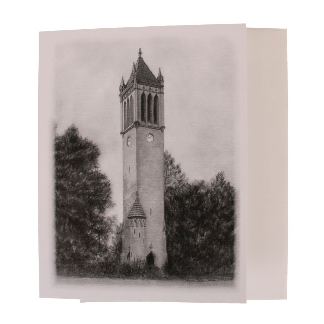 Image For Campanile Card by Pam McGinnis