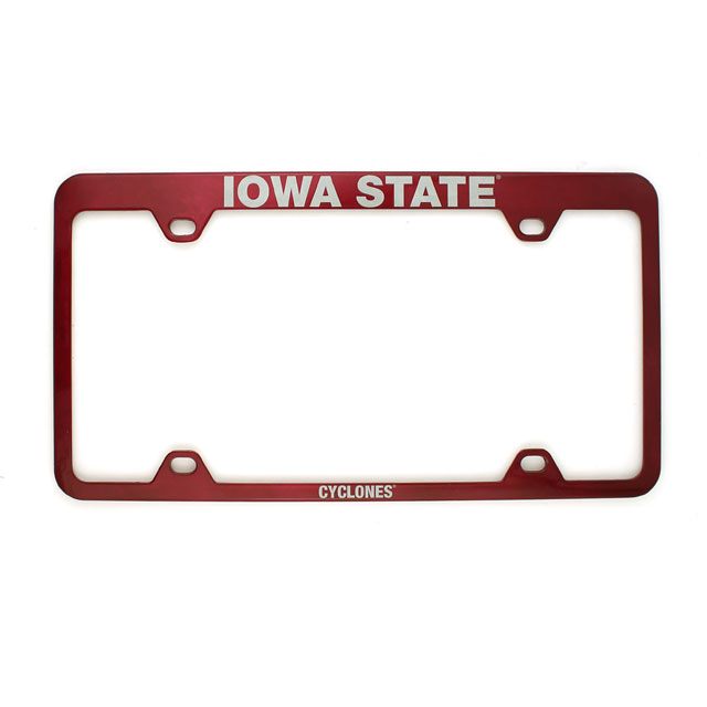 Image For Iowa State License Plate Frame
