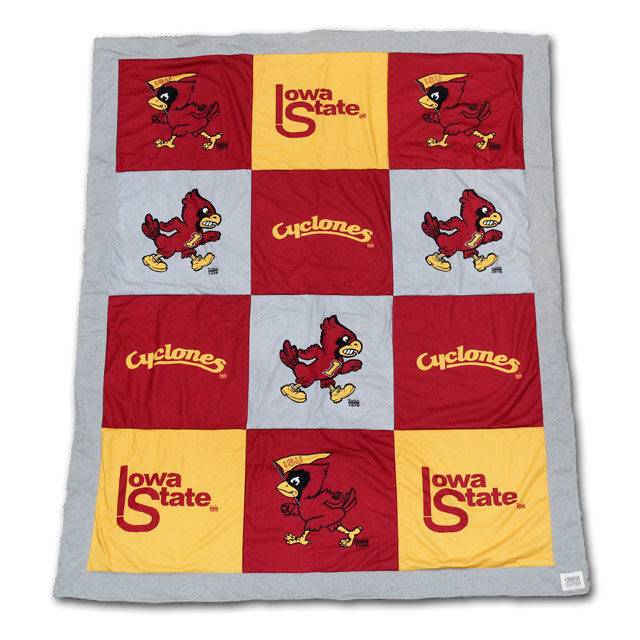 Image For Iowa State Varsi-Tee Blanket