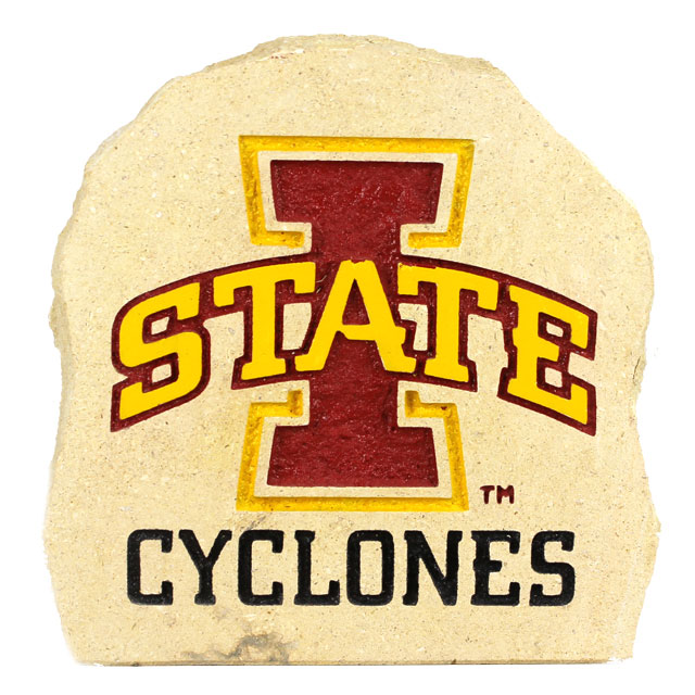 "Image For I-State Cyclones Stone 7""X7"""