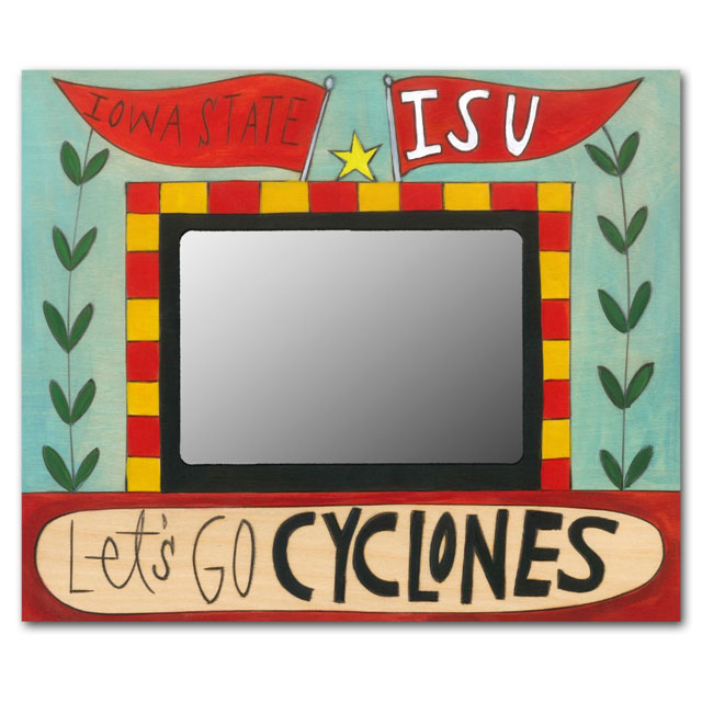 Cover Image For Sincerely, Sticks® Let's Go Cyclones Frame