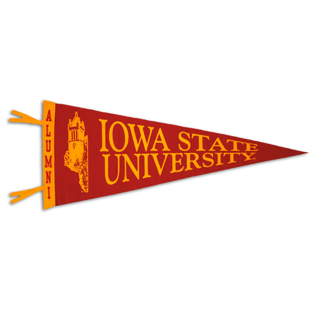 Image For Large ISU Alumni Pennant
