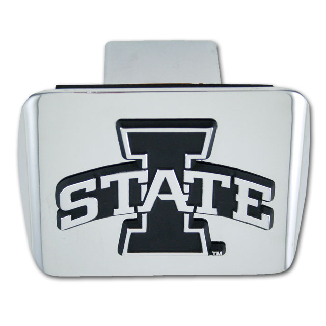Image For Metal Hitch Cover (Chrome and Black)
