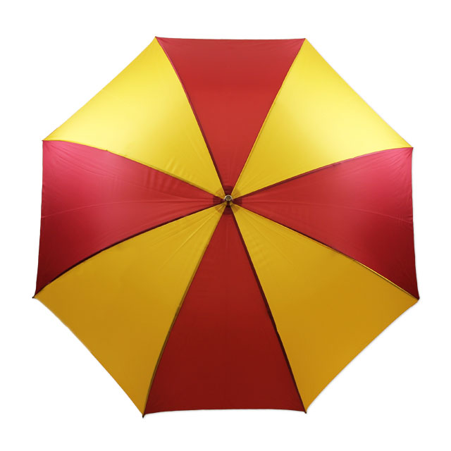 Image For Cardinal and Gold Golf Umbrella