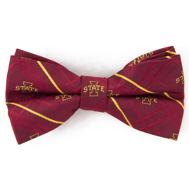 Cover Image For Iowa State Bow Tie Oxford