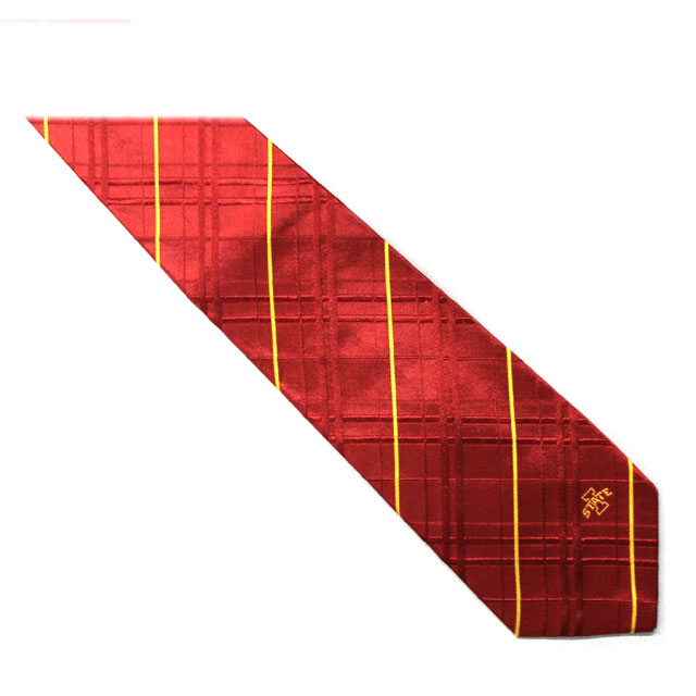 Image For I-State Pin Stripe Silk Tie