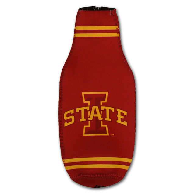 Image For Iowa State Bottle Cooler w/ Zipper