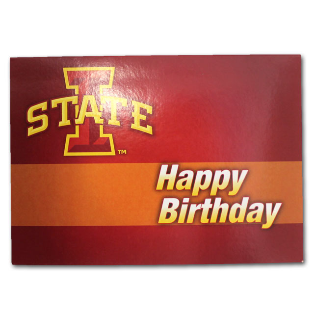 Image For I-State Happy Birthday Card