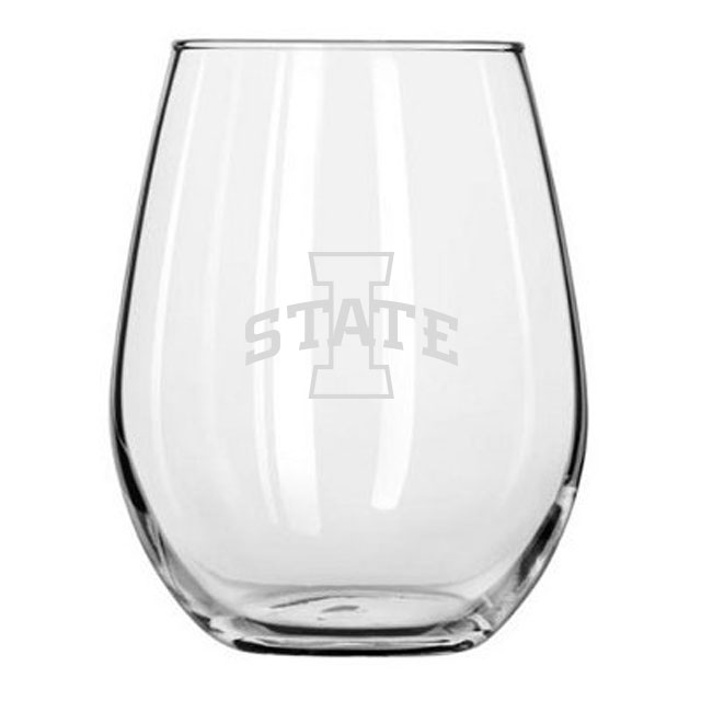Cover Image For Stemless I-State Wine Glass