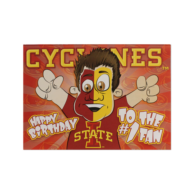 Image For Cyclones Birthday Card