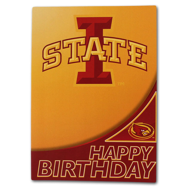 Image For I-State Birthday Card