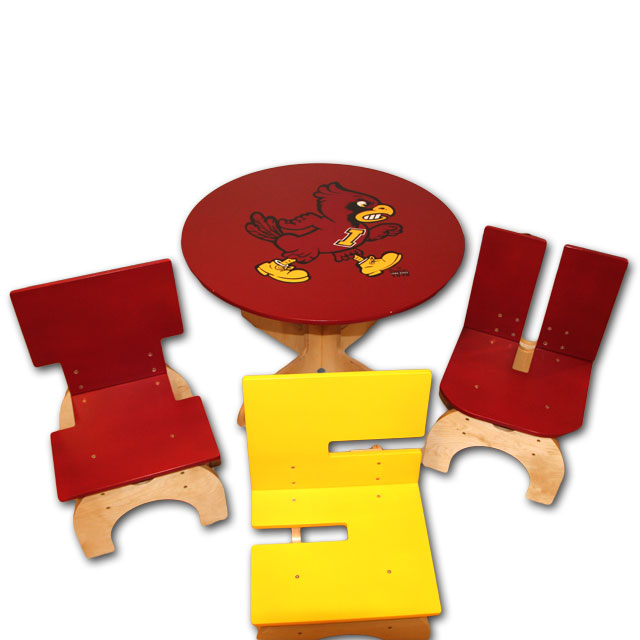 Image For ISUAA Kids Table and Chairs
