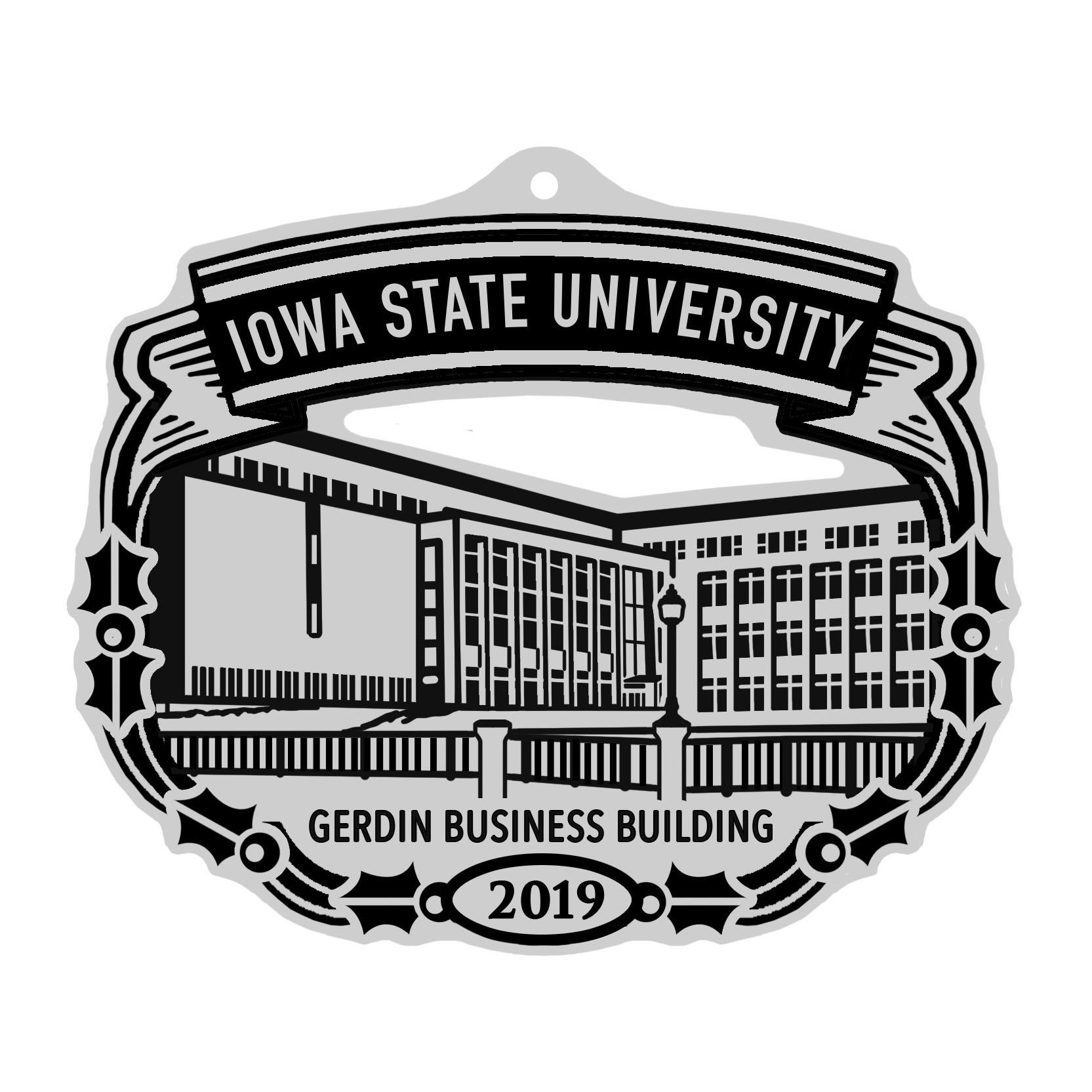 Image For ISUAA Commemorative Pewter Ornament