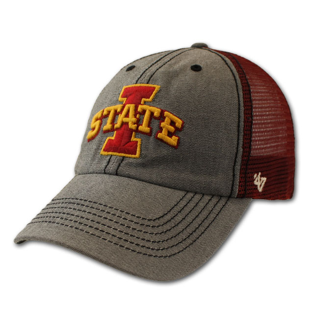 Image For I-State Cardinal Mesh Back Stretch Fit Cap