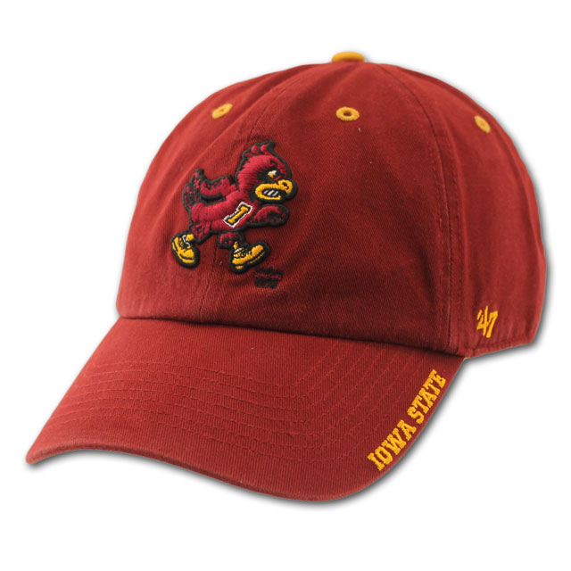 Image For Adjustable Cardinal/Gold Walking Cy Cap
