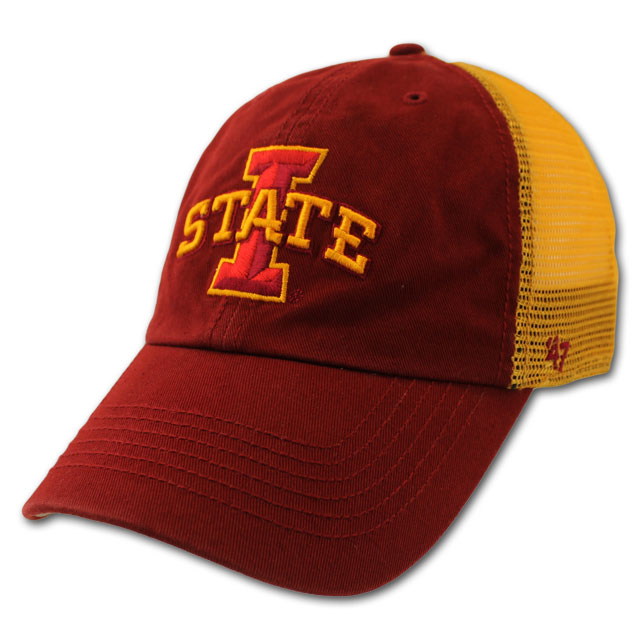 Image For I-State Gold Mesh Back Stretch Fit Cap