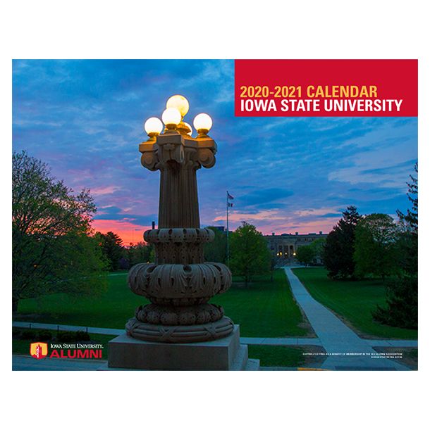 Image For 2020-21 ISU Alumni Association Calendar