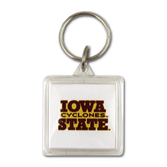 Image For Iowa State Cyclones Acrylic Keytag