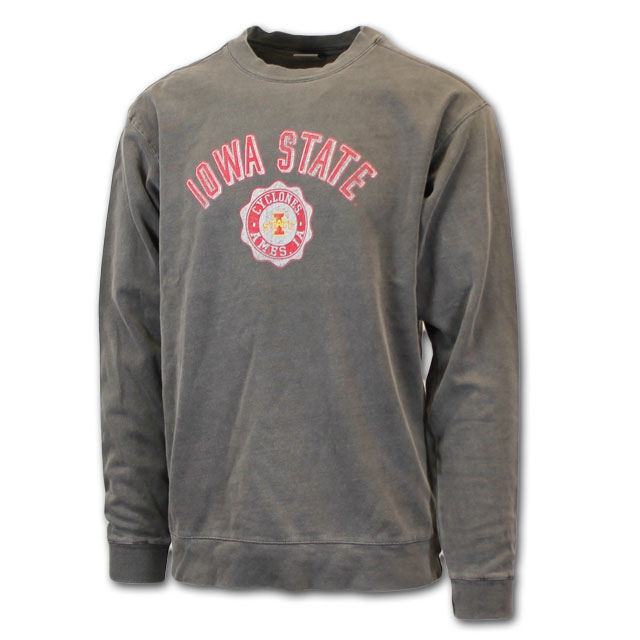 Image For I-State Seal Crew Neck Sweatshirt* <i>WAS $54.00</i>